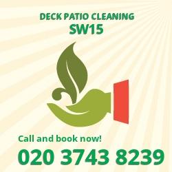 Roehampton deck stain SW15