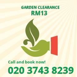 RM13 land clearance companies Rainham