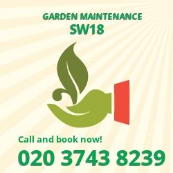 SW18 patio lawn maintenance Wandsworth