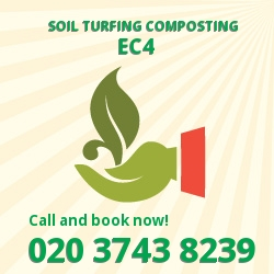 EC4 gardening and composting services in Fleet Street