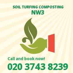 NW3 gardening and composting services in Chalk Farm