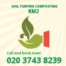 RM2 gardening and composting services in Gallows Corner
