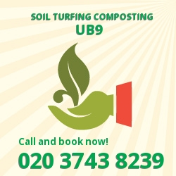 UB9 gardening and composting services in Harefield